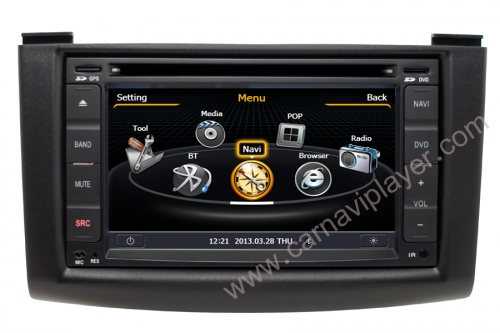 Nissan Rogue Aftermarket Navigation With DVD Player