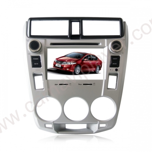 Honda City Aftermarket Navigation Car Stereo With Frame Panel