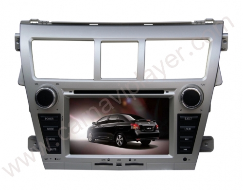 Toyota Vios 2008-2012 Aftermarket Navigation Car Stereo