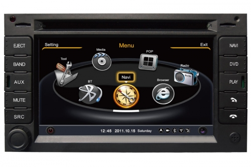 Honda Universal Double Din Aftermarket Navigation Car Stereo