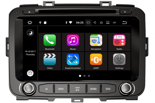 Kia Carens 2012-2014 Aftermarket Navigation DVD Player