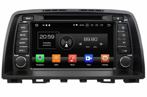 Aftermarket Navigation Auto radio For Mazda 6 2012-2014