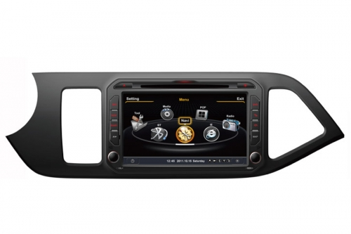 Kia Picanto Morning Aftermarket Navigation DVD Player
