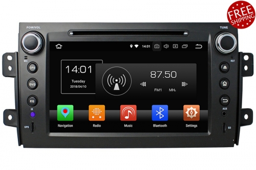 Android OS Navigation Radio Player For Suzuki SX4 2006-2013