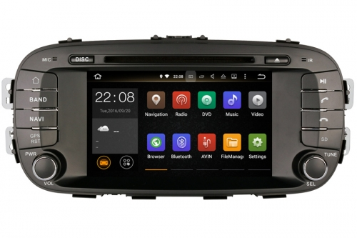 Android OS Navigation Radio Player For Kia Soul 2014-2016