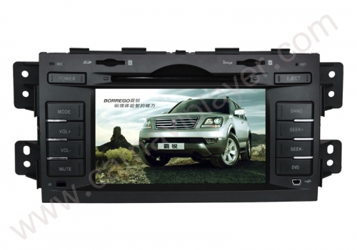 Kia Borrego Mohave Aftermarket Navigation DVD Player