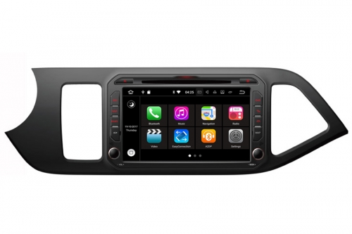 Android 7.1 OS Navigation Radio Player For Kia Picanto Morning