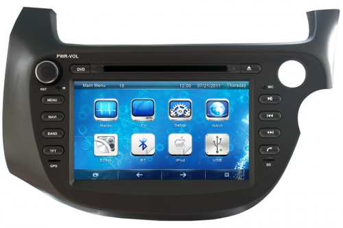Honda Fit Jazz Right Hand Drive Aftermarket Navigation Head Unit