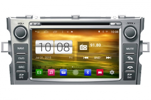 Android OS Navigation Radio Player For Toyota Toyota Verso EZ