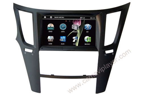 Subaru Legarcy Outback Navigation Head Unit with 8 inch screen