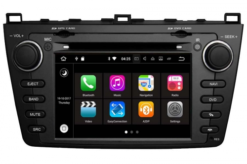 Aftermarket Navigation Auto radio For Mazda 6 2008-2012