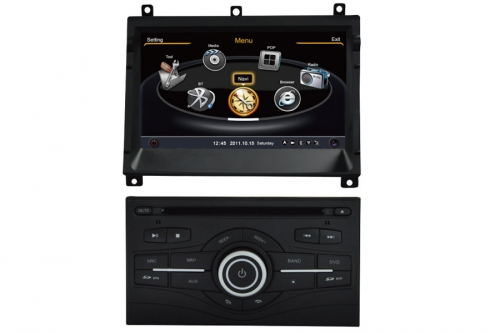Nissan Patrol Aftermarket Navigation With DVD Player