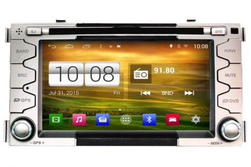Android OS Navigation Radio Player For Kia Soul 2008-2012