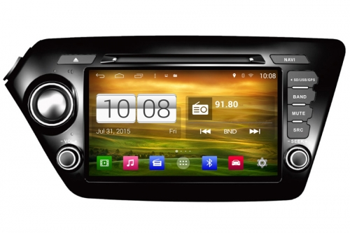 Aftermarket Radio upgrade for Kia K2 Rio 2011-2013