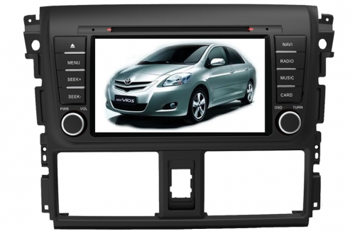 Toyota Vios 2013 Aftermarket Navigation Car Stereo