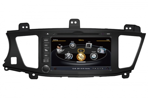 Kia Cadenza Aftermarket Navigation DVD Player