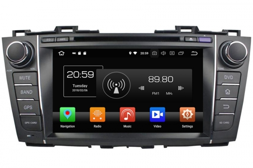 Aftermarket Navigation Auto radio For Mazda 5 2010-2015