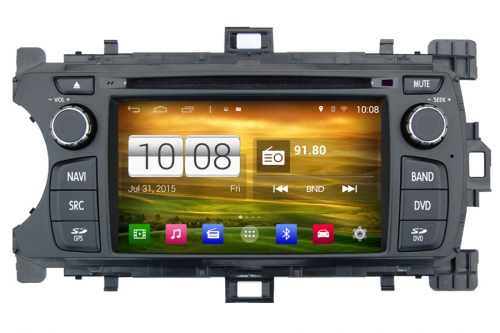 Android OS Navigation Radio Player For Toyota Yaris 2012