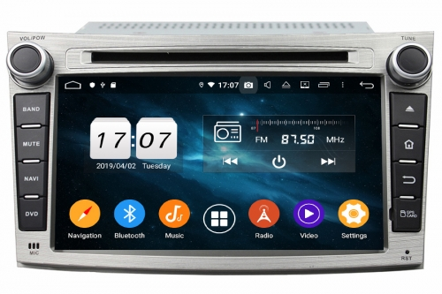 Aftermarket Navigation radio For Subaru Legacy/Outback 2008-2014
