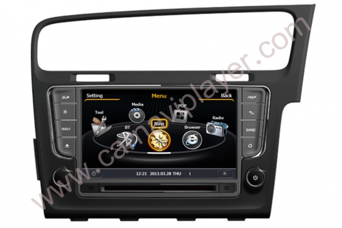 Volkswagen Golf 7 Right Hand Drive Navigation Head Unit