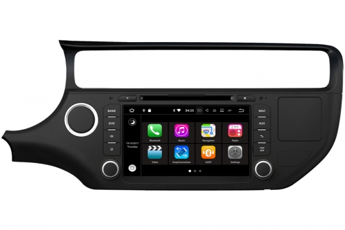 Aftermarket Radio upgrade for Kia Rio 2015-2016