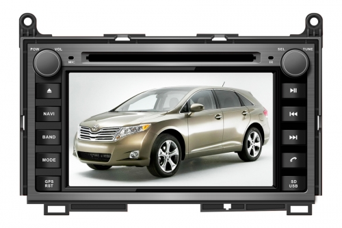 Toyota Venza Aftermarket Navigation Car Stereo with Wince OS