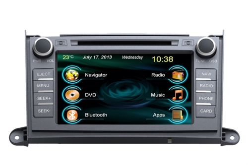 Toyota Sienna Aftermarket Navigation Car Stereo