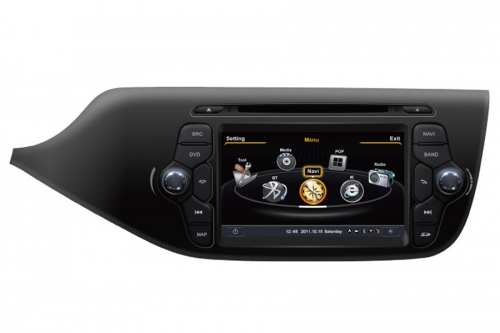 Kia Ceed 2013-2014 Aftermarket Navigation DVD Player