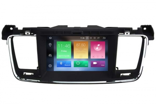 Peugeot 508 2011-2014 Navigation Autoradio with Android 8.0