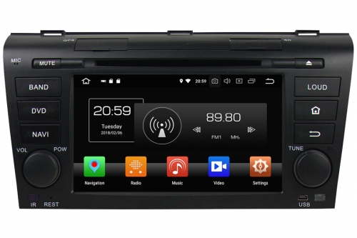 Aftermarket Navigation Auto radio For Mazda 3 2004-2009