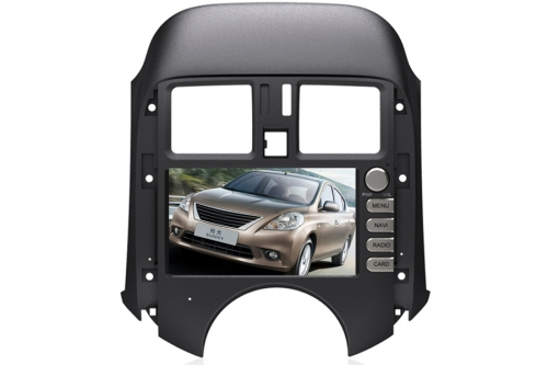 Nissan Sunny Aftermarket Navigation With DVD Player