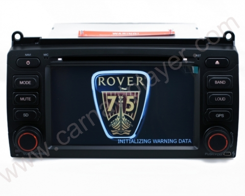 MG ZT & Rover 75 Aftermarket Navigation Head Unit